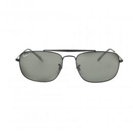 نظارة شمسية,ماركة RAYBAN ,موديل 3560,للرجال,مستطيل , لون اطار اسود ,عدسة الاخضر,خليط معدني