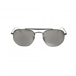 نظارة شمسية,ماركة RAYBAN ,موديل 3648,للرجال,مربع , لون اطار اسود ,عدسة الاخضر,خليط معدني