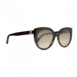 نظارة شمسية,ماركة Gucci ,موديل 325S,للنساء,عيون القط , لون اطار مزيج من الالوان ,عدسة بني,اسيتات