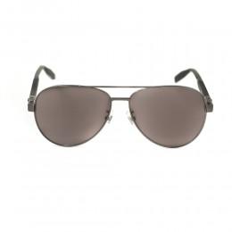 نظارة شمسية,ماركة Mont Blanc ,موديل 032S,للرجال,افييتور , لون اطار اسود ,عدسة بني,خليط معدني