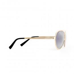 نظارة شمسيه,ماركة OCEAN DRIVE موديل 5222, للرجال, افييتور ,لون ذهبي,عدسة ضد الشمس, لون العدسة بني, خليط معدني