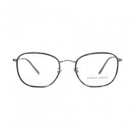 نظارة طبية ,ماركة Giorgio Armani ,موديل 5105J,للجنسين,مستدير , لون اطار مزيج من الالوان ,عدسة شفاف,خليط معدني