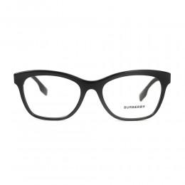 نظارة طبية ,ماركة burberry ,موديل 2323,للجنسين,وايفير , لون اطار اسود ,عدسة شفاف,اسيتات