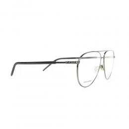 نظارة طبية ,ماركة Dior ,موديل TECHNICITYO5,للجنسين,افييتور , لون اطار فضي ,عدسة شفاف,خليط معدني