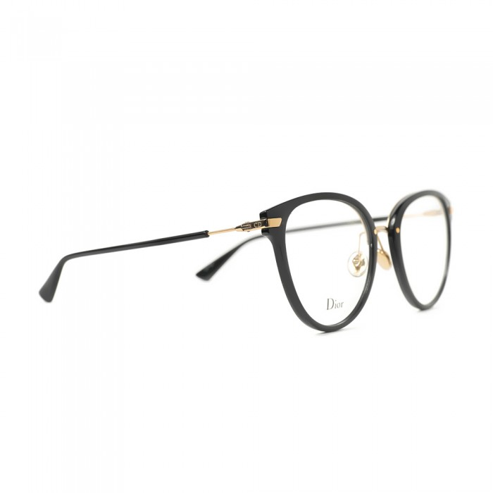 نظارة طبية ,ماركة Dior ,موديل LINE2,للجنسين,مستدير , لون اطار فضي ,عدسة شفاف,خليط معدني