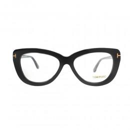 نظارة طبية ,ماركة Tom Ford ,موديل 5414,للجنسين,عيون القط , لون اطار اسود ,عدسة شفاف,اسيتات