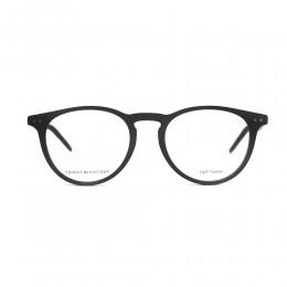 نظارة طبية ,ماركة Tommy Hilfiger ,موديل 1733,للجنسين,كبير جدا , لون اطار اسود ,عدسة شفاف,اسيتات