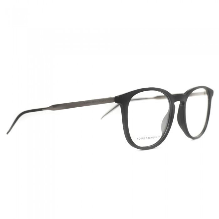 نظارة طبية ,ماركة Tommy Hilfiger ,موديل 1706,للجنسين,وايفير , لون اطار مزيج من الالوان ,عدسة شفاف,خليط معدني