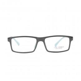 نظارة طبية ,ماركة luis versus,موديل K1724B-BLK/GLOSS,للجنسين,مستطيل,اسود,ضد الضباب,لون العدسة شفاف,اسيتات
