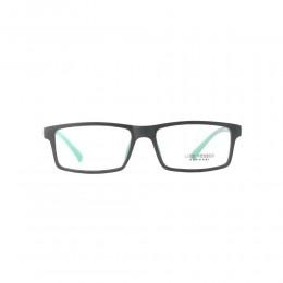 نظارة طبية ,ماركة luis versus,موديل K1724B-BLK/MATT,للجنسين,مستطيل,اسود,ضد الضباب,لون العدسة شفاف,اسيتات