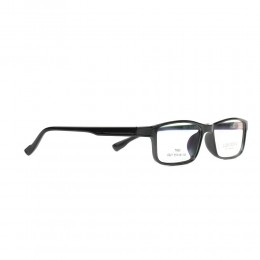 نظارة طبية ,ماركة luis versus,موديل 021-C1,للجنسين,مستطيل,اسود,ضد الضباب,لون العدسة شفاف,اسيتات