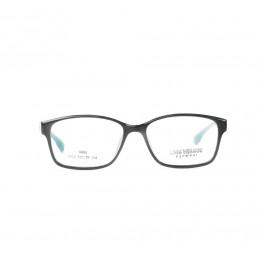 نظارة طبية ,ماركة luis versus,موديل 022-C1,للجنسين,مستطيل,اسود,ضد الضباب,لون العدسة شفاف,اسيتات