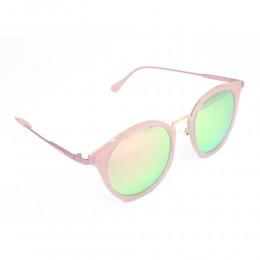 نظارة شمسيه,ماركة EXALT CYCLE موديل  3510,للنساء, شكل  دائري ,لون  وردي,عدسة عاكسة, لون العدسة , وردي, خليط معدني