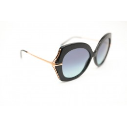 نظارة شمسيه,ماركة TIFFANY & CO. موديل  4169,للنساء, شكل  دائري ,لون  أسود,عدسة  حماية من الأشعة فوق البنفسجية, لون العدسة , رمادي, خليط معدني