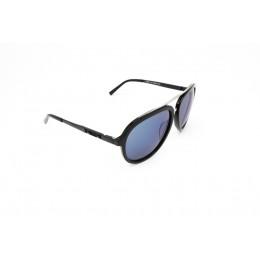 نظارة شمسيه,ماركة CHARRIOL موديل  9017,للنساء, شكل افييتور ,لون  أسود,عدسة  حماية من الأشعة فوق البنفسجية, لون العدسة , أسود, بلاستيك