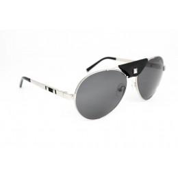 نظارة شمسيه,ماركة CHARRIOL موديل  9019,للرجال, شكل  دائري ,لون  فضي,عدسة  مستقطبة, لون العدسة , أسود, خليط معدني