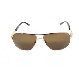 نظارة شمسيه,ماركة CHARRIOL موديل  9020,للنساء, شكل  مستطيل ,لون  ذهبي,عدسة  حماية من الأشعة فوق البنفسجية, لون العدسة , بني, خليط معدني