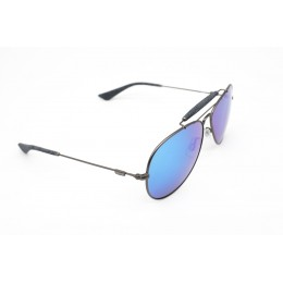 نظارة شمسيه,ماركة LEVIS موديل  10071Z,للرجال, شكل افييتور ,لون  رمادي,عدسة عاكسة, لون العدسة , أزرق, خليط معدني