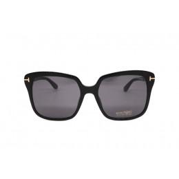 نظارة شمسيه,ماركة TOM FORD موديل  788,للنساء, شكل  كبير الحجم ,لون  أسود,عدسة  حماية من الأشعة فوق البنفسجية, لون العدسة , أسود, بلاستيك