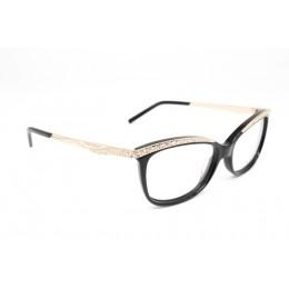 نظارة طبية ,ماركة LINEA ROMA موديل  CLASS 342,للنساء, شكل  دائري ,لون  أسود,, بلاستيك